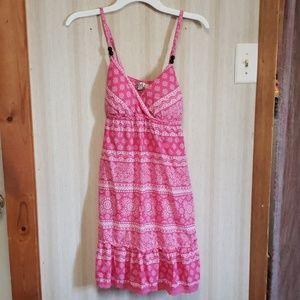 Pink sundress sz xL